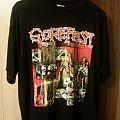 Gorefest - TShirt or Longsleeve - GOREFEST-false direct merch orig. 1992,U.S.A. version, t-shirt, size L
