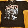 Suffocation - TShirt or Longsleeve - SUFFOCATION breeding the spawn vintage and OG t-shirt blue grape 1992