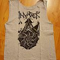 INVADER (Ro) - logo, melodic death metal TS sleeveless TShirt or Longsleeve