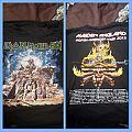 Iron Maiden Maiden England Tour Shirt 2012