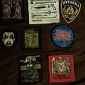 My patch collection so far