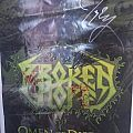Broken Hope Signed Omen Of Disease Tour Poster Other Collectable