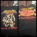 Anthrax Tour shirt 2012