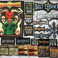 The Largest Bolt Thrower Patch Collection in the World