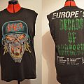 Tshirt Slayer - Decade of aggression ('91 tour)