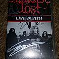 Paradise Lost-Live Death VHS Signed Tape / Vinyl / CD / Recording etc
