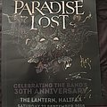 Paradise Lost-30th Anniversary Poster From Halifax Gig