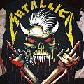Metallica - TShirt or Longsleeve - metallica-liveshit binge and purge hoodie