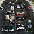 First battle jacket I made, mostly DIY patches