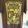 Black Sabbath - TShirt or Longsleeve - Black Sabbath - World Tour 1978 reprint T