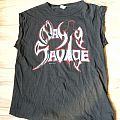 Nasty Savage - European Blitzkrieg '88 tour muscle shirt