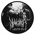 Vidargängr | ...and death will conquer the world woven patch