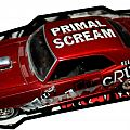 "Mötley Crüe 1:64 Scale ""Primal Scream"" 69 Chevy Camaro Other Collectable"