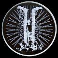 I I logo patch (white border)