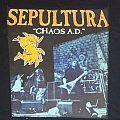 Sepultura backpatch