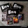 boxset package. BRUTALITY all discography 3 LP & 1 EP confined in 4 cassette tapes.