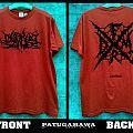 "SS. Darkall Slaves FRDM ""france death metal""(red) TShirt or Longsleeve"