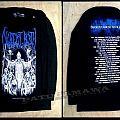 """Decrepit Birth """"tour 2014"""" (blue logo)"""