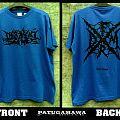 "SS. Darkall Slaves FRDM ""france death metal""(blue) TShirt or Longsleeve"
