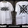 "SS. Darkall Slaves FRDM ""france death metal""(white) TShirt or Longsleeve"