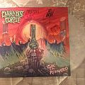 Cannabis Corpse - Tube of the resinated on clear vinyl signed