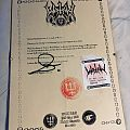 Letter from Watain Other Collectable