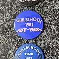 Girlschool - Pin / Badge - Badge Collection