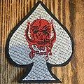 Motörhead - Patch - Ace of Spades patch never used.