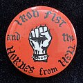 Motörhead - Pin / Badge - Iron Fist and the Hordes from Hell Badge
