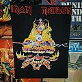 Iron Maiden - Patch - Iron Maiden - Clairvoyant Backpatch