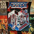 Accept - Patch - Accept - Metal Heart Backpatch