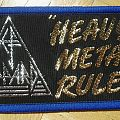 Def Leppard - Patch - Def Leppard - Heavy Metal Rules Patch