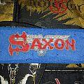 Saxon - Patch - Saxon - Wheels of steel stripe