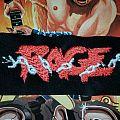 Rage vintage logo patch