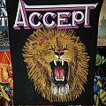 Accept Lion Backpatch