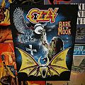 Ozzy Osbourne - Patch - Ozzy - Bark at the Moon Backpatch