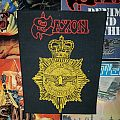 Saxon - Strong Arm of the Law Backpatch