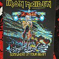 Iron Maiden - Patch - Iron Maiden - Somewhere on Tour Backpatch!