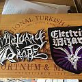 Mortuary Drape and Electric Wizard Patches for Nine Turning Mirrors