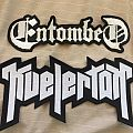 Kvelertak & Entombed large back logo patches