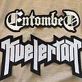 Kvelertak & Entombed large back logo patches