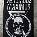 Venomous Maximus - Embroidered Skull Patch