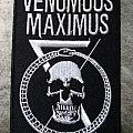 Venomous Maximus - Embroidered Skull Patch