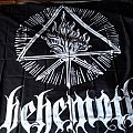Behemoth - White Sigil [Fabric Poster]