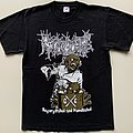"Regurgitate (RGTE) ""Regurgitated And Humiliated"" Shirt (Size Medium)"