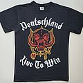 "Motörhead - TShirt or Longsleeve - Motörhead ""Deutschland - Live To Win"" Shirt (Size Medium)"