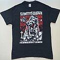 "Sanitys Dawn - TShirt or Longsleeve - Sanitys Dawn ""Flowerviolence"" Shirt (Size Medium)"
