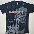 "Iron Maiden - TShirt or Longsleeve - Iron Maiden ""Powerslave - Mummy Eddie - All-Over-Print"" Shirt (Size Medium)"
