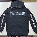 "Manowar ""Dawn Of Battle"" Hoodie (Size Extra Large)"