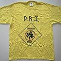 "D.R.I. - TShirt or Longsleeve - D.R.I. (Dirty Rotten Imbeciles) ""Thrash Zone"" Shirt (Size Medium)"